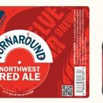 Turnaround Northwest Red Ale Label