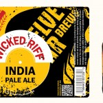 Wicked Riff India Pale Ale Label