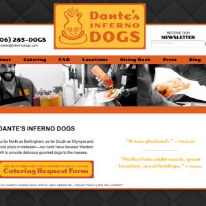 Dante's Inferno Dogs Website