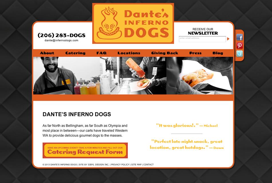 dantes-website